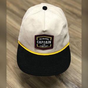Captain Fin Lynard Snapback Hat